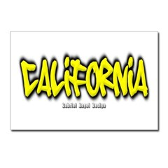 California Graffiti Postcards (Package of 8)
