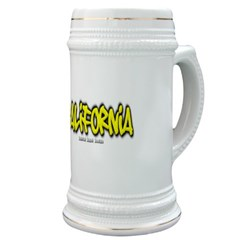 California Graffiti Stein