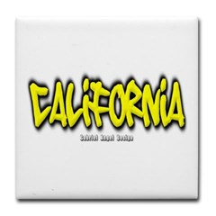 California Graffiti Tile Coaster
