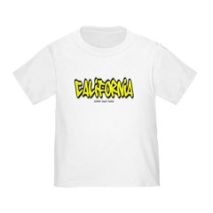 California Graffiti Toddler T-Shirt