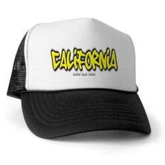 California Graffiti Trucker Hat