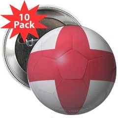 "England Soccer 2.25"" Button (10 pack)"