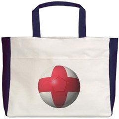 England Soccer Beach Tote Bag
