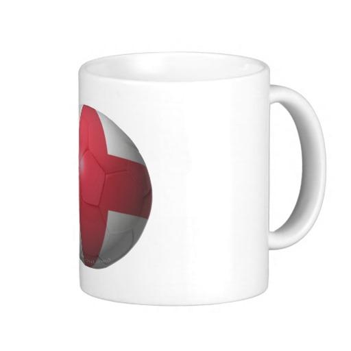 England Soccer Classic White Mug