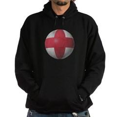 England Soccer Hooded Dark Sweatshirt