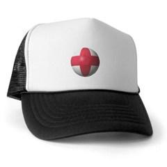 England Soccer Trucker Hat