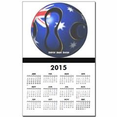 Australia Soccer Calendar Print