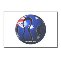Australia Soccer Postcards (Package of 8)