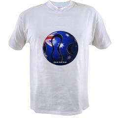 Australia Soccer Value T-shirt