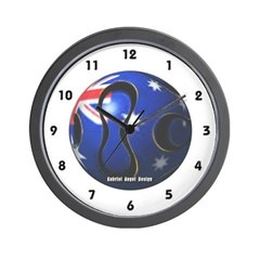 Australia Soccer Wall Clock