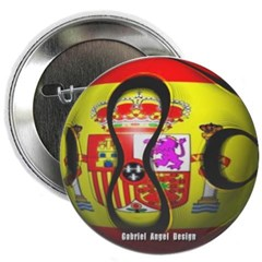 Spain Soccer Button