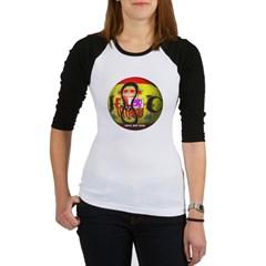 Spain Soccer Junior Raglan T-shirt