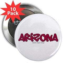"Arizona Graffiti 2.25"" Button (10 pack)"