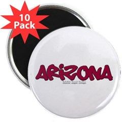 "Arizona Graffiti 2.25"" Magnet (10 pack)"