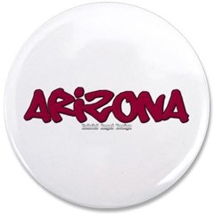 "Arizona Graffiti 3.5"" Button"