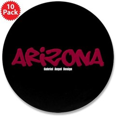 "Arizona Graffiti 3.5"" Button (10 pack)"
