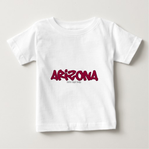Arizona Graffiti Baby Fine Jersey T-Shirt