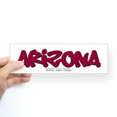 Arizona Graffiti Bumper Sticker