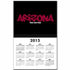 Arizona Graffiti Calendar Print