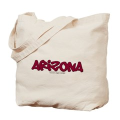Arizona Graffiti Canvas Tote Bag