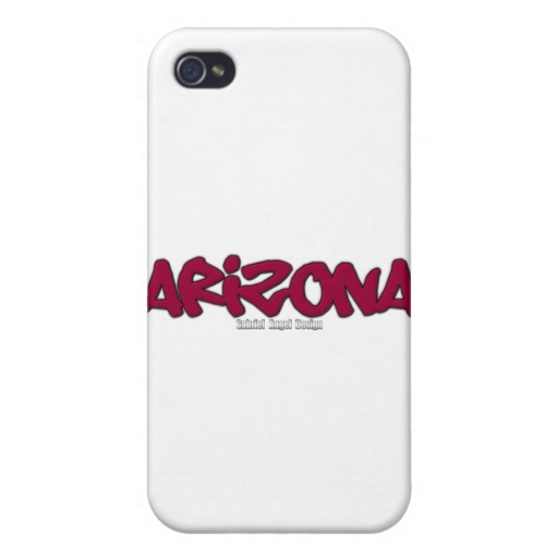 Arizona Graffiti Case Savvy iPhone 4 Matte Finish Case