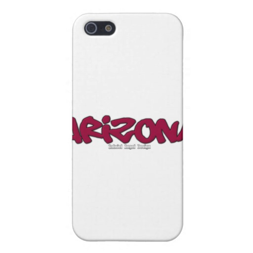 Arizona Graffiti Case Savvy Matte Finish iPhone 5/5S Case