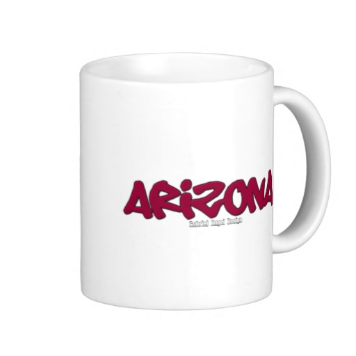 Arizona Graffiti Classic White Mug