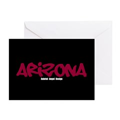 Arizona Graffiti Greeting Cards (Pk of 10)