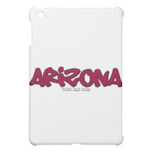 Arizona Graffiti iPad Mini Matte Finish Case