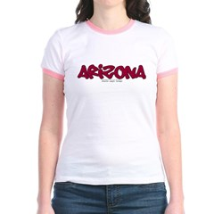 Arizona Graffiti Junior Ringer T-Shirt