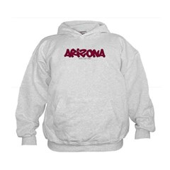 Arizona Graffiti Kids Sweatshirt by Hanes