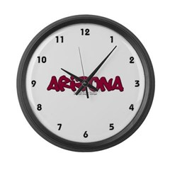 Arizona Graffiti Large Wall Clock