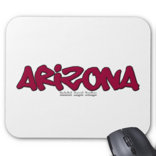 Arizona Graffiti Mousepad