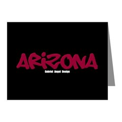 Arizona Graffiti Note Cards (Pack of 10)