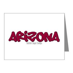 Arizona Graffiti Note Cards (Pk of 10)