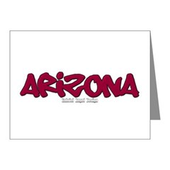 Arizona Graffiti Note Cards (Pk of 20)
