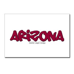 Arizona Graffiti Postcards (Package of 8)