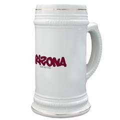 Arizona Graffiti Stein