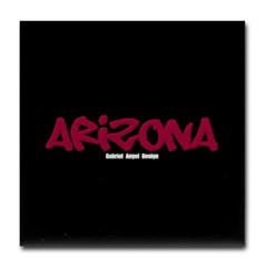 Arizona Graffiti Tile Coaster