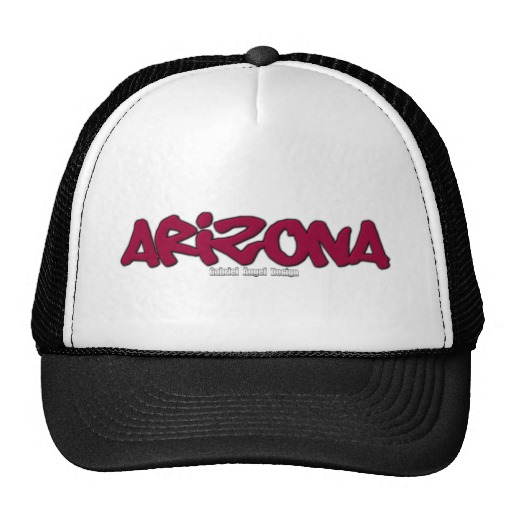 Arizona Graffiti Trucker Hat