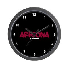 Arizona Graffiti Wall Clock