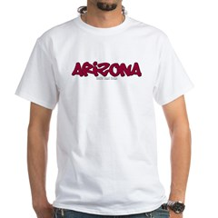 Arizona Graffiti White T-Shirt