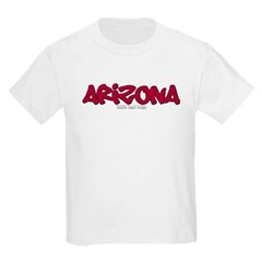 Arizona Graffiti Youth T-Shirt by Hanes