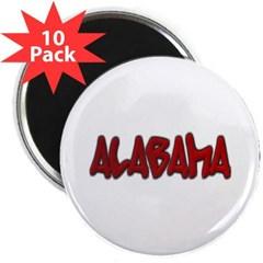 "Alabama Graffiti 2.25"" Magnet (10 pack)"