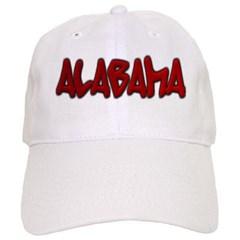 Alabama Graffiti Baseball Cap