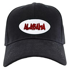 Alabama Graffiti Baseball Hat
