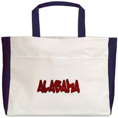 Alabama Graffiti Beach Tote Bag