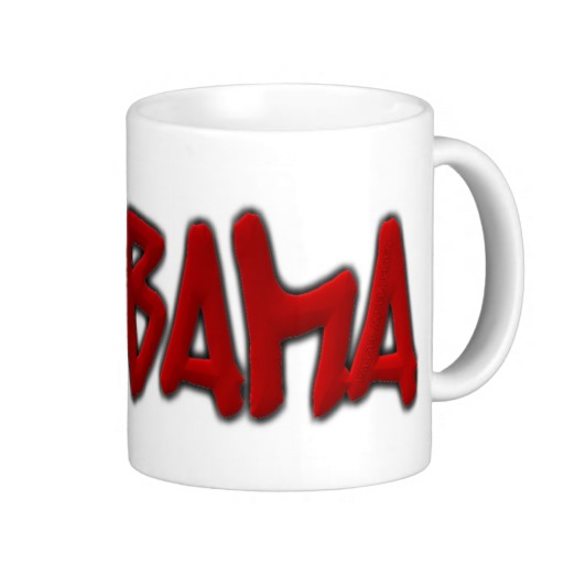 Alabama Graffiti Classic White Mug