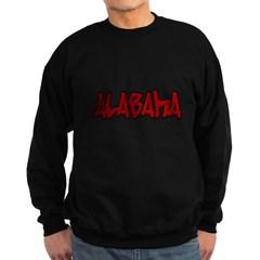 Alabama Graffiti Dark Sweatshirt