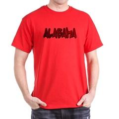 Alabama Graffiti Dark T-shirt